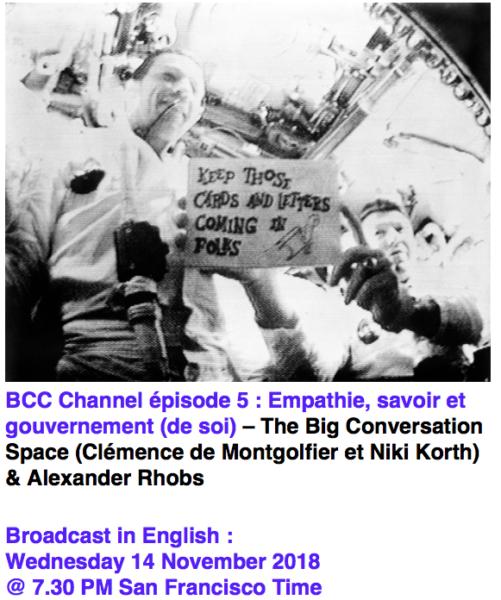 The Big Conversation Space (Clémence de Montgolfier et Niki Korth) & Alexander Rhobs